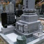 墓石工事完了しました(加賀市塚谷町にて)