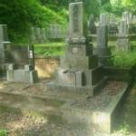 墓石クリーニングです(加賀市上野町にて)