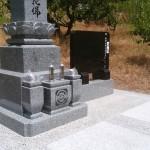 墓石工事完了しました(加賀市内にて)