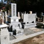 春のお彼岸~墓所清掃(加賀市上野町墓地)