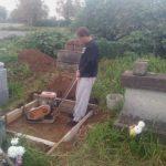 墓所のリフォーム工事です(加賀市柴山町にて)