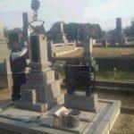 墓石工事完了しました(加賀市新保町にて)