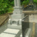 墓石工事完了しました(加賀市山中温泉にて)